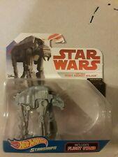 Disney Hot Wheels Star Wars Starships First Order Heavy Assault Walker W/ Stand