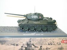 IXO ALTAYA 1:43, char russe T34 / 85     militaire ref: 32