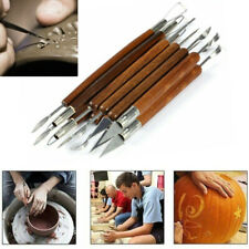 6x Pottery Sculpture Tools Clay Sculpting Shapers Polymer Modeling Supply
