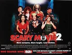 Scary Movie 2 Original Movie Poster
