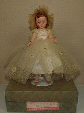 Vintage Madame Alexander AUBURN CISSETTE in 852 BRIDESMAID Complete Outfit w/BOX