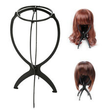 Plastic Wig Stand Holder Folding Stable Durable PVC hair wig bracket Hair tools