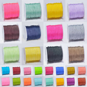 1Roll 0.8mm*20m Nylon Cord Thread Bracelets For Necklace Jewelry Accessories