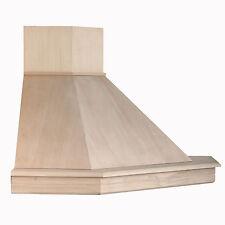Cappa cucina classica legno 105 x105 angolo toulipie' grezzo STOCK CL105A-TTGB52