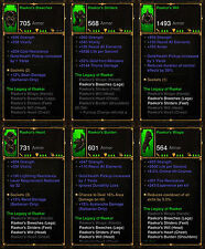 Diablo 3 RoS PS4 [SOFTCORE] - The Legacy Of Raekor Barbarian Set [Ancient]