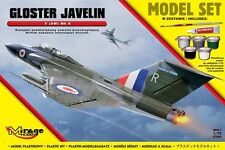 GLOSTER JAVELIN FAW MK.9 (RAF MARKINGS) + VALLEJO PAINTS 1/72 MIRAGE GIFT SET