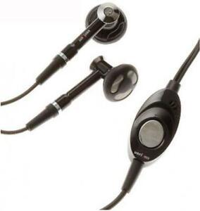 HEADSET OEM 2.5MM HANDS-FREE EARPHONES DUAL EARBUDS MICROPHONE for CELLPHONES
