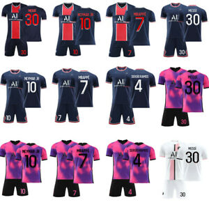 Adults Youth Home Football Kits Soccer Jersey Custom Tracksuits Training Suits