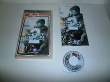 JEU PSP version Française: GHOST RECON ADVANCED WARFIGHTER 2 - Complet TBE