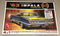 AMT 1963 Chevy Impala SS 1:25 scale model car kit 1149
