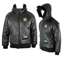 ADIDAS CHILE 62 JACKET RARE PADDED BLACK SIZE BRAND NEW MEDIUM ADULTS