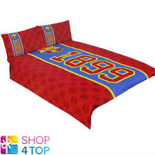 FC BARCELONA 1899 DOUBLE DUVET SET RED COVER PILLOW CASE FOOTBALL SOCCER TEAM