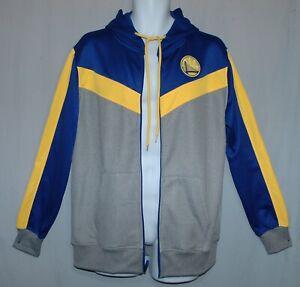 UNK NBA Sweatshirt Hoodie Jacket Size M Golden State Warriors Soft Fleece
