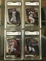 2020 Panini Prizm Baseball Graded Gem Mint GMA 10 Pick A Card. Biggio, Posey etc
