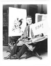 J. ALLEN ST. JOHN TARZAN & THE GOLDEN LION 1923 PHOTO NEW! EDGAR RICE BURROUGHS