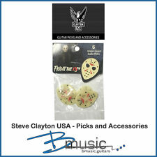 6 x Steve Clayton Friday the 13th Guitar Picks - Officially Licensed - USA Made