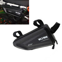 Triangle Motorcycle Side Frame Bag Pack Case Pouch Wallet For BMW R1200GS R1250