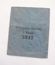 Original Verleihungstüte zum Eisernes Kreuz 2. Kl. Hersteller Walter & Henlein