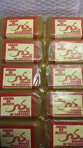 10 RATTLESNAKE SOAP ( 10 BARS) JABON ACEITE VIBORA CASCABEL ACNE 5 oz 150 gr
