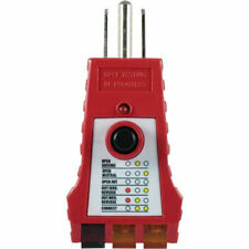 Ge 50957 Gfci Receptacle Tester 110V-125V