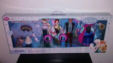DISNEY Store FROZEN FEVER Deluxe FASHION DOLL GIFT SET Elsa Anna Authentic NIB