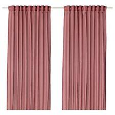 "Ikea VIVAN Curtains 2 Panels (1 pair) 57"" x 98"" Pink - NEW in Package"