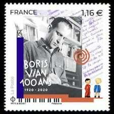 TIMBRE FRANCE NEUF 2020 BORIS VIAN 1920 2020 Y&T 5406 F
