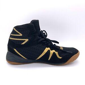 Everlast Mens Black Gold Pivt Low Top P00001076 Michelin Boxing Shoes Size 11