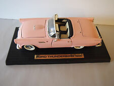 1955 Ford Thunderbird -Pink- #92068 1:18 Scale Yat Ming Road Legends