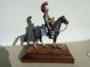 Stadden or Similar, Napoleonic French cavalry 54mm painted by Frank Burns, JJ