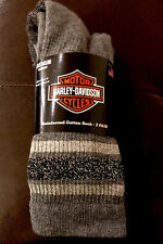 2 Pair New Harley Davidson Motorcycles Silver Glitter Sock Men's 4-9 Women's 6-9