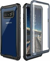 Samsung Galaxy Note 8 Full-body Rugged Case Cover with Built-in Screen Protector