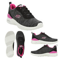 Skechers Womens Paradise Waves Skech Air Cushioned Lace Up Sport Trainers Shoes