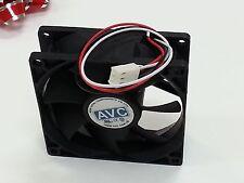 ** AVC HP DL08025R12U Fan 3-Wire 3-PIN 12VDC 0.50A 80x25mm <*FAST SHIPPING>F001