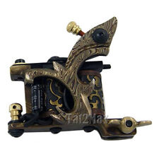 True Damascus Steel Handmade Tattoo Machine Shader Gun USA Seller