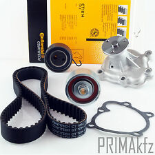 Conti ct1014 Timing Belt + Pulleys Set + Wapu Opel Astra G Corsa C 1.7 DTI 16v