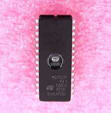 M27C512-15F1 UV EPROM - Lot of 10 ( M27C512_15F1 )