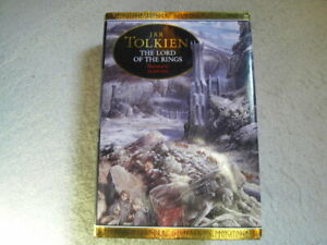 LORD OF THE RINGS JRR Tolkien Illustrated by Alan Lee Hardback 1991