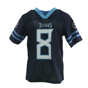 Tennessee Titans Official NFL Kids Youth Size Marcus Mariota Jersey New Tags