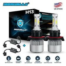 H13 LED Headlight Bulb Resistor Decorder Error Free for Dodge Ram 1500 2500 3500