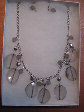 Crystal Necklace & Earrings Set Fashion Costume Jewelry Gift Box Lot 3
