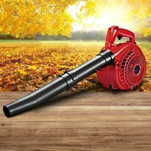Leaf Blower Vacuum 36Cc 2-Stroke Petrol Engine Garden Yard Lightweight Quiet