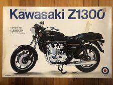 Rare 1980 Kawasaki Z1300 1/8th Scale Entex Monogram AMT Revell MPC Johan Aurora