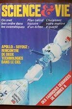 SCIENCE ET VIE n°694 du 7/1975; Apollo-Soyouz; rencontre de 2 technologies