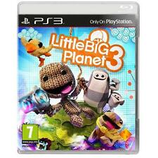 LITTLE BIG PLANET 3 PS3 PLAYSTATION 3 VIDEOJUEGO NUEVO & precintado