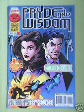 PRYDE AND WISDOM - MARVEL COMICS USA -  VOL1 #1 -SEPT 1996 - VG