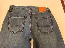Lucky Brand Jeans 221 Original Straight Leg Blue Denim 100% Cotton Men's 30 x 34