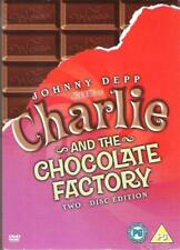 CHARLIE AND THE CHOCOLATE FACTORY 2 DISC SPECIAL ED'N JOHNNY DEPP DVD NEW SEALED