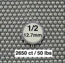 1/2 INCH (12.7MM)  STEEL SLINGSHOT BALLS (50 LBS)