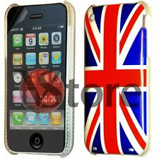 Cover Custodia Per iPhone 3G 3GS Bandiera Inglese Inghilterra UK + Pellicola